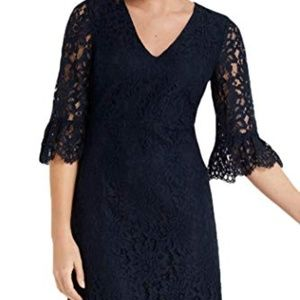 Draper James Navy Lace Dress NWT Size 10